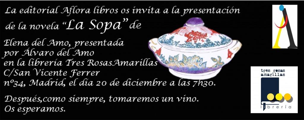 Invitación La sopa web